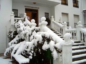 Ayuntamiento nevado