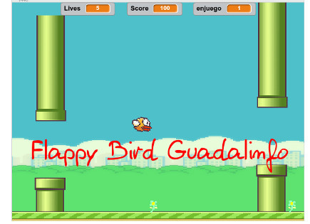 Flappy Bird Guadalinfo